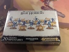 40K Warhammer AOS Daemons of Tzeentch Blue Horrors NIB Sealed