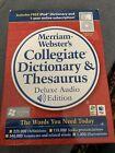 Mercian-Webster's Collegiate Dictionary & Thesaurus Deluxe Audio Edition