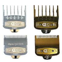 .5/1.5mm Magnetic Premium Cut Hair Clipper Guides Guards Limit Comb Set For Wahl
