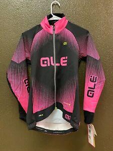 Alé Cycling PRR Winter Jacket - Pink/Black - Women's Small