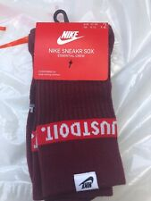 Nike Sneakr Sox Essential Crew Mens Socks UK 8-11 Eu 42-46 2 Pairs BNWT