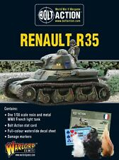 Warlord Games Bolt Action French Renault R35 Tank