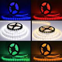 5M 300 LED 5050 SMD Flexible LED Strip Light Lamp Waterproof Tape Roll DC 24V