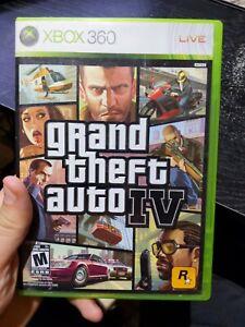 Grand Theft Auto IV - (Microsoft Xbox 360, 2010)