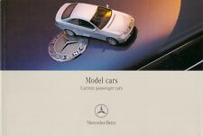 Mercedes-Benz Model Cars 2002-03 UK Market Sales Brochure & Price List
