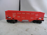 Lionel O Scale #6476 Lehigh Valley Red Hopper Car