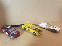 Vintage toy cars hot wheels mattel x3 (ford & other)           c 1980, 1990 & 92