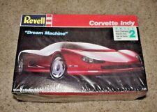 "Corvette Indy 1989 Revell 1/25 Scale Concept Car - Model Kit - ""Dream Machine"""