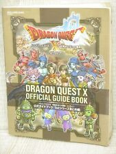 DRAGON QUEST X 10 Official Guide 1st Series Nintendo Wii Book SE35*