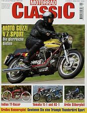 Motorrad Classic 1/98 1998 Indian Scout Ardie Silberpfeil Guzzi V7 Sport Pannoni