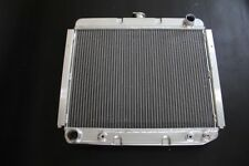 """3 ROWS FIT PLYMOUTH BARRACUDA 68-72 22"""" Wide CORE KKS STAMP ALUMINUM RADIATOR"""