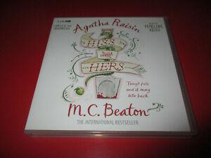 Agatha Raisin: Hiss and Hers (Audio CDs) by M C Beaton