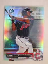 2017 Bowman Chrome Refractor Parallel Bobby Bradley BCP157 Indians #/499
