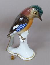 Porzellan Vogel - Nusshäher - Zeh Scherzer - Porcelain Bird - Jay - H. 28,5 cm