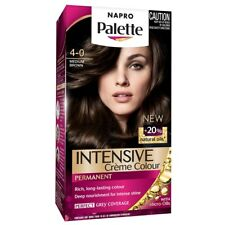 Napro Palette 4 Medium Brown  a luxurious and long-lasting colour result