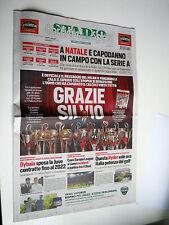 CORRIERE DELLO SPORT   14/04/2017 //STORICO FINISCE L'ERA BERLUSCONI AL MILAN