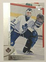 1996-97 Upper Deck #341 Felix Potvin Toronto Maple Leafs Hockey Card