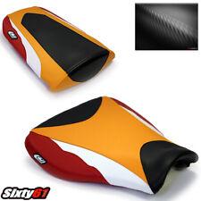 Honda CBR600RR CBR 600RR Siège Housses 2007-2013 2017 2018 2019 Luimoto Orange