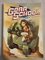 Gear School Vol. 2 by Adam Gallardo 2010 graphic novel