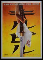 Poster Kill Bill Band 1 Quentin Tarantino Uma Thurman David Carradine P07