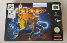 CASTLEVANIA 64 Nintendo 64/N64 game, AU/EU English Pal version