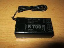 Empfänger Graupner R 700 - (35 Mhz) A Band Kanäle 61-80 ''neu'''