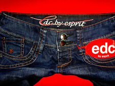 "EDC by ESPRIT ""FIVE"" STRETCH HÜFTJEANS SKINNY RÖHRENJEANS W26 L30 NEU !!! TOP !!"