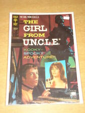 GIRL FROM UNCLE #5 VF+ (8.5) GOLD KEY COMICS OCTOBER 1967