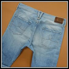 HTC CISCO Hollywood Trading Company RARE LIGHT SLIM  SUMMER JEANS 38W 34L