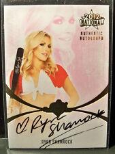 RYAN SHAMROCK - 2012 BENCHWARMER NATIONAL - Signature Auto Signed CARD