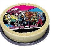 Tortenaufleger Monster High, Zucker Kindergeburtstag Party Deko H2