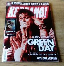 Kerrang! magazine #1721 2018 Green Day, Converge, Black Veil Brides,