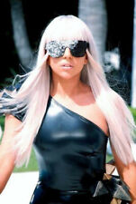 Lady Gaga Costume Accessories (Wig, Glasses, Gloves)