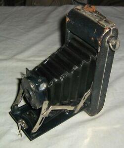 Vintage Eastman KODAK Folding Camera No 1A Series II Pocket Kodak,Rochester,N.Y.