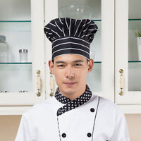 Professional Chef Cap Hat, Adjustable, Cotton, for Catering Cook Baker