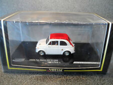 Vitesse 1:43 24506 1964  FIAT ABARTH 595 SS  White/ Red  Limited edition MINT