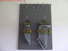 Werkstattwand Set 3 Lochwände Hakensatz 14 Teile +23800 +23810