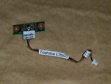 Toshiba Equium L350 L350D Power button Pcb Board