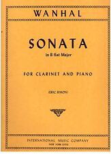 Wanhal: Sonata in Si Bemolle Maggiore Per Clarinetto e Pianoforte  International
