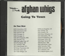 AFGHAN WHIGS Going to town PROMO DJ CD Single Twilight Singers w/ TOUR DATES