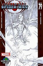 ULTIMATE SPIDERMAN 79 WIZARD SKETCH PROMO GIVEAWAY NM++