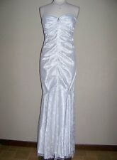 XSCAPE 14 Strapless Embellished Lace Wedding or Formal Dress NWT $224