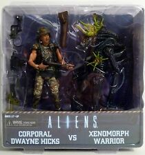 "ALIENS CORPORAL DWAYNE HICKS vs. XENOMORPH WARRIOR 7"" inch Figure 2-pk Neca 2013"
