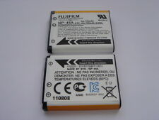 Batterie D'ORIGINE FUJI FUJIFILM NP-45A GENUINE battery AKKU ACCU FinePix JX250