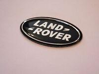 LAND ROVER STEERING WHEEL BADGE RANGE ROVER L322 SPORT SUPERCHARGED BLACK EMBLEM