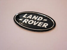 LAND ROVER STEERING WHEEL BADGE RANGE ROVER L322 SPORT SUPERCHARGED BLACK EMBLEM