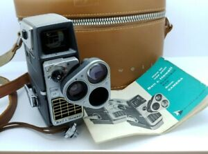 Vintage Bell & Howell Electric Eye 8mm movie camera USA in EXCELLENT condition