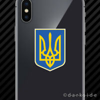 Ukrainian Car Truck Patriotic Banner Flag Tryzub Trident Coat of Arms
