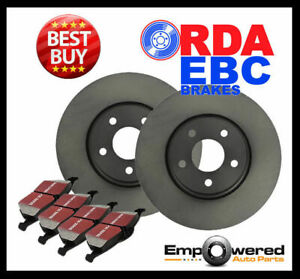 FRONT DISC BRAKE ROTORS + PADS for Nissan Tiida C11 1.8L *Japan* 06-13 RDA7707