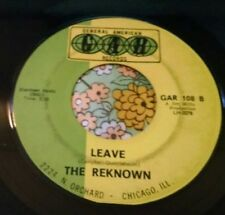 Arkansas Garage Punk Raver 45 The Reknown Leave / You and Me HEAR